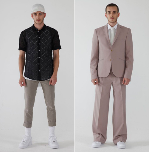 Dress Pants With Short Sleeve Shirt Short-sleeved Shirts in Strong