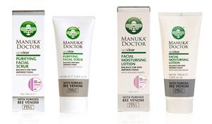 Win! Manuka Doctor ApiClear Facial Moisturiser Lotion and Purifying Facial Scrub